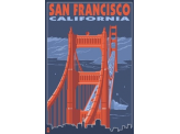 Poster de reproduction en Giclée - Golden Gate Bridge