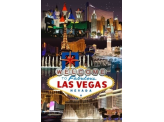 Poster de reproduction en Giclée - Las Vegas Casino & Hotels