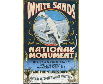 Poster de reproduction en Giclée - White Sands National Monument