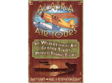 Poster de reproduction en Giclée - Alaska Air Tours