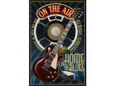 Poster de reproduction en Giclée - Memphis Guitar Blues