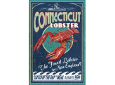 Poster de reproduction en Giclée - Connecticut Lobster