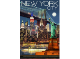 Poster de reproduction en Giclée - New York City