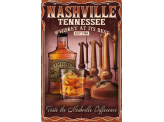 Poster de reproduction en Giclée - Nashville Whiskey