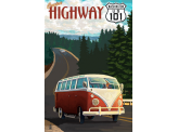 Poster de reproduction en Giclée - Cruise Highway 101