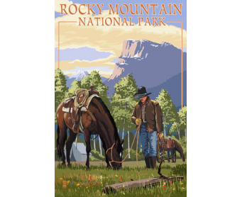 Poster de reproduction en Giclée - Rocky Mountain