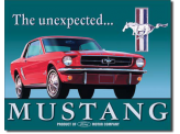 Plaque Publicitaire - Ford Mustang