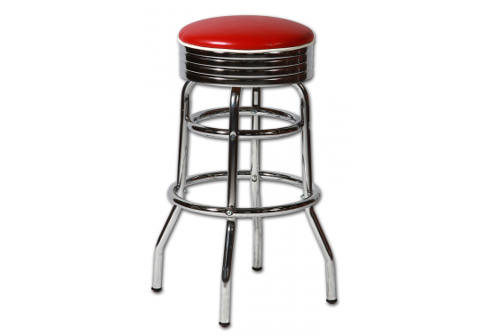 tabouret de bar am ricain sans dossier coloris au choix sas brust us planet. Black Bedroom Furniture Sets. Home Design Ideas