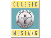 Plaque Publicitaire - Ford Mustang - Classic