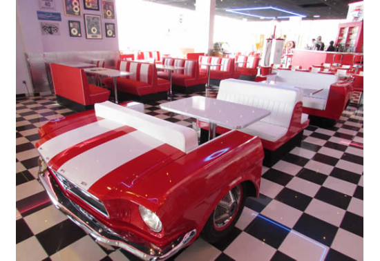 Banquette FULL MUSCLe CAR originale - Ford Mustang 1965