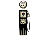Pompe à essence Made in Usa - ROUTE 66 noire