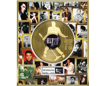 "Disque d'Or ELVIS PRESLEY ""75th BIRTHDAY CELEBRATION"""