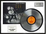"Disque d'Or ELVIS PRESLEY ""GREAT PERFORMANCES"""