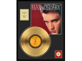 "Disque d'Or ELVIS PRESLEY ""THE 50 GREATEST HITS"""