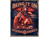 Plaque Publicitaire - Fire Fighters - Bring It On