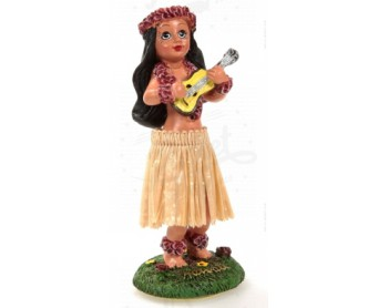 DANSEUSE HAWAIIENNE UKULELE