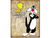 Plaque Publicitaire -  Sylvester and Tweety
