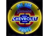 Enseigne Néon XL - CHEVROLET WE USE PARTS