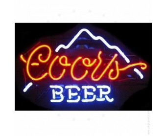 Enseigne Néon COORS BEERS