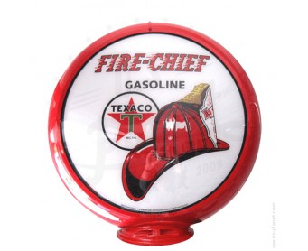 Globe de pompe à essence - Texaco Fire Chief