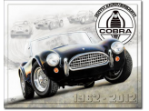 Plaque Publicitaire - Shelby Cobra 50th