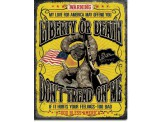 Plaque Publicitaire - Don't Tread on Me