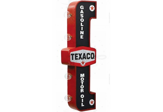 Enseigne murale goodies - Texaco