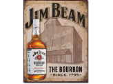 Plaque Publicitaire  - Jim Beam - Still House