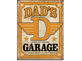 Plaque Publicitaire - Dad's Garage