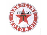 "Plaque murale ""Dome"" Texaco Motor Oil"