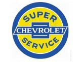 "Plaque murale ""Dome"" Chevrolet Service"