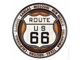 Plaque décorative Route 66 XL