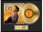 "Disque d'Or ELVIS PRESLEY ""GOLD LP"""