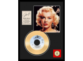 "Disque d'Or MARILYN MONROE ""RIVER OF NO RETURN"""