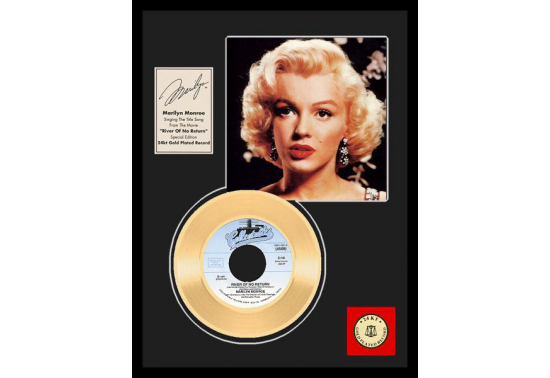 """Disque d'Or MARILYN MONROE """"RIVER OF NO RETURN"""""""