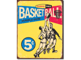 Plaque Publicitaire - Topps 1957 Basketball