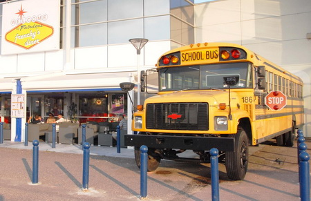 School Bus pour restaurant et Food Truck